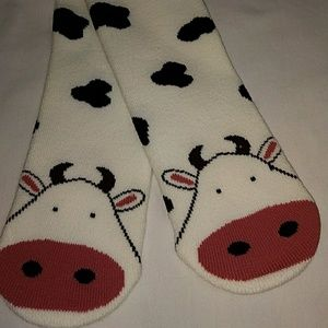 K. Bell Cow Socks